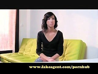 Fakeagent Nervous Young Girl Exploited In Casting