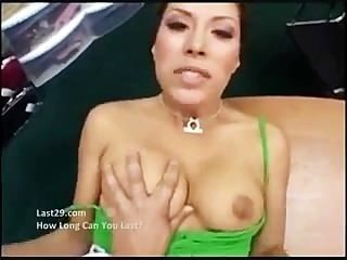 Hot Latina Pov Creampie