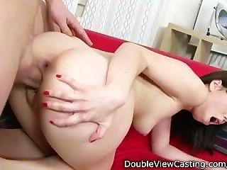 Nerdy Hottie Gets Off On Hardcore Anal Sex
