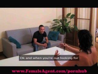 Femaleagent. Shy Hunk Gets Devoured