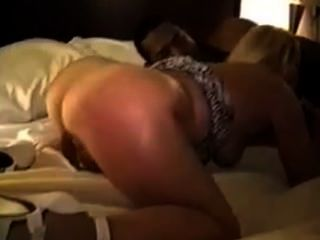 Husband Watches Blonde Wife Get Double Teamed