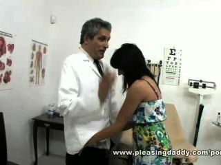 Dirty Old Doctor Fucks Sexy Young Girl