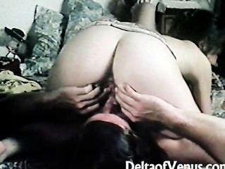 Vintage Hairy French Teen Has Sex - Retro 1970s