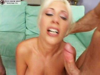 Puma swede threesome and creampie