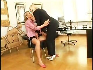 Lesbian Job Interview-sophie Moone....i`d Work For Free!
