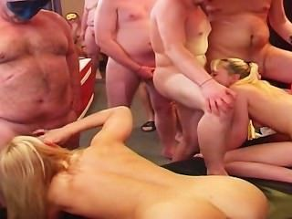 Swinger Gangbang Party