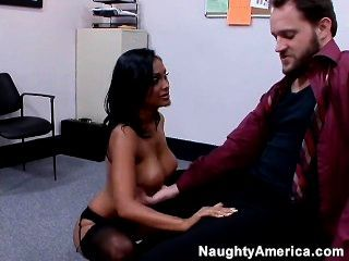 Alec Knight Fucks Priya In The Office