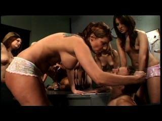 Reverse Bukkake 8 - Scene 1