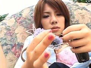 Sara Nakamura - Masturbation Scene