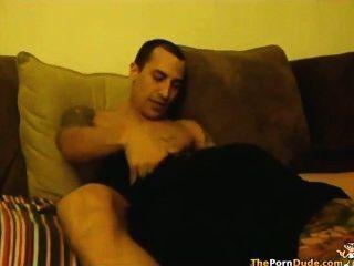 Naked women in angora sweaters