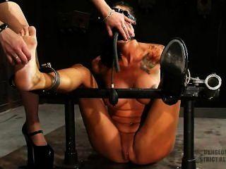 Str!ct Restr@int Sadistic Tickling