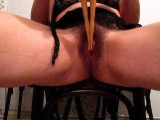 Mom Masturbating With Her Daugther´s Barbie & Multi-squirting
