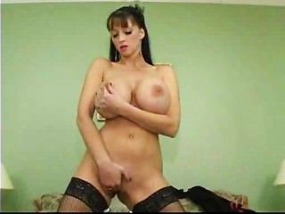 Milf Loves Her Glass Dildo
