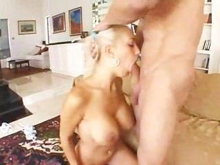 Busty Blonde Hard Anal