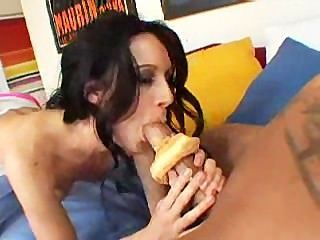 She Loves Her Donuts And Cocks Fresh!