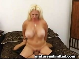 Titty Mature Gets All......titty-fuck