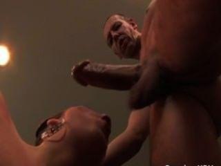 Gorgeous Bitch Fucking Enormous Dick