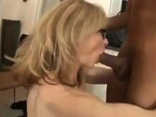 Milf Nina Hartley Takes Two Black Cocks