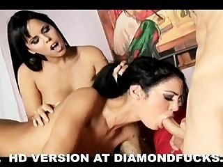 Naughty Anal Threesome