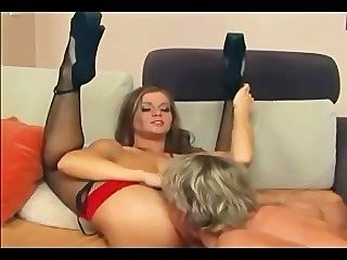 Rita Gets Fucked Anally In Fishnet Stockings And High Heels