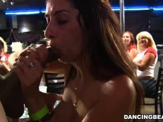 Tits And Blowjobs At The Club