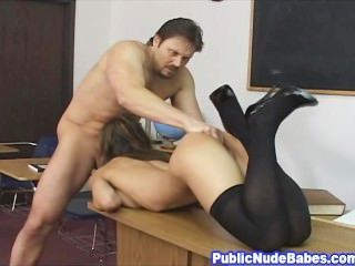 Petite Asian Babe Class Room Hard Sex