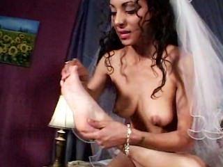 Jenna Haze And Dee - Foot Fetish Lesbian Scene