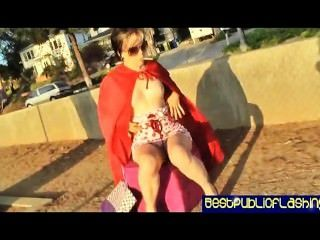 Daisy T - Public Flashing Daring Hot Pt2