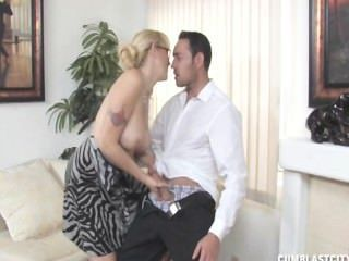 Alana Evans Monster Cumshot Facial