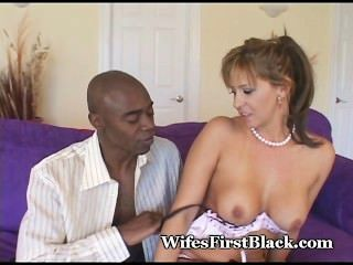 Cock Craving Mature Loves Black