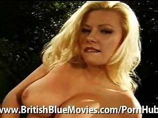 British Slut Michelle Thorne Strips And Gives You A Golden Shower!
