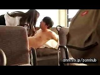 Japanese Milf Banged On Bus