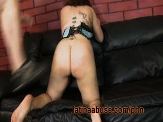 Thick Latina Has Rough Sex With A Hung Gringo