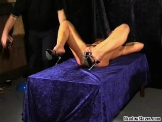Bizarre Medical Fetish And Electro Bdsm Of Blonde Pussy Punished Slaveslut