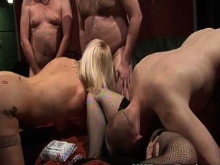 British Swingers Get Fucked In A Club Gangbang Party