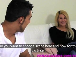Passionate And Erotic Threesome Casting