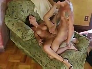 Sexy Brunette Gets It All