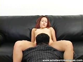 Melissa James Gets Creampied