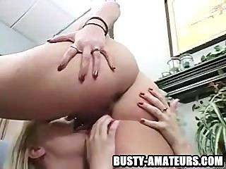 Lacie And Kat On Pussy Licking And Toying Action