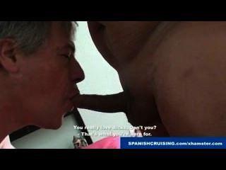 Horny Daddy & Cross Dresser