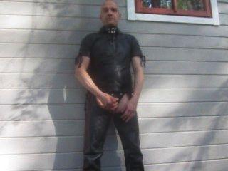 Mr.mature Leather Cum
