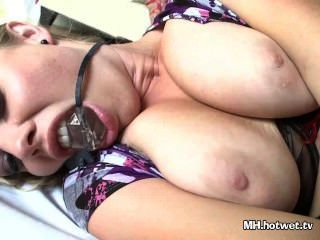 Milf Ass Ripped While Tied