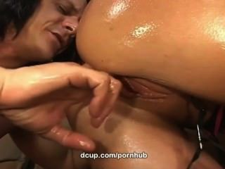Hot Milf Kylie Worthy Oiled And Fucked Exlusively At Dcup