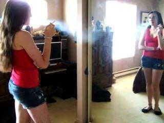 Princess Chainsmoking Again