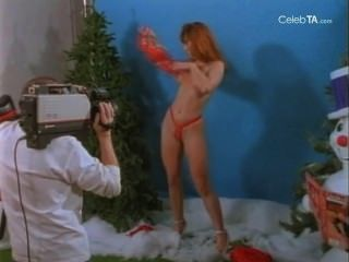 Christine Cavalier In Santa Claws