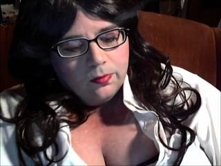 Bbw Sissy Dianel Glasses Smoke