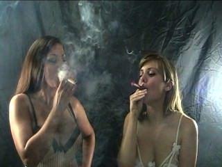 Smoking Brunette From Quebecsmoke
