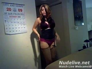 Webcam Masturbation -super Hot Brunette Smoking On Webcam