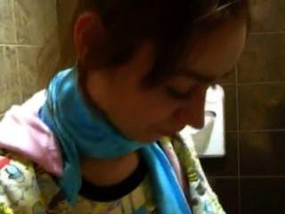 Petite Natasha Princess Naked At Toilet