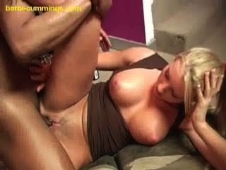Blonde Gets Double Creampie
